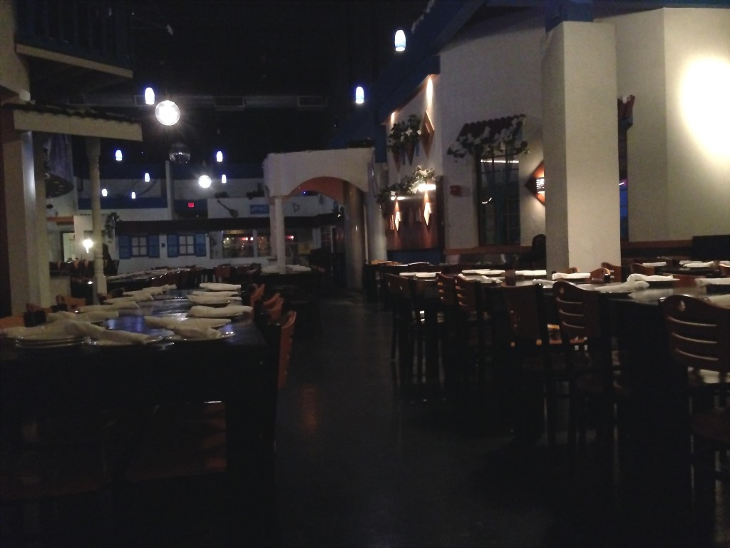 Taverna Yamas - Empty On A Friday Night