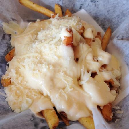 Epik Burger - Four Cheese Fries