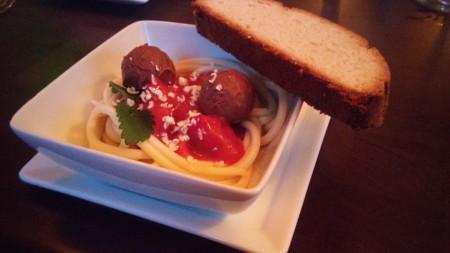 """Vernon's - """"Spaghetti and Meatballs"""" Dessert"""