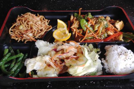 Bento - Szechuan Chicken Bento Box