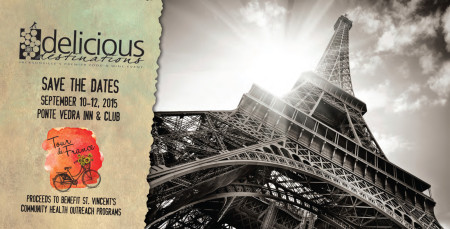 Delicious Destinations - Save The Dates