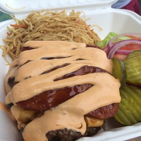 Hapa Li - Spamiyaki Burger