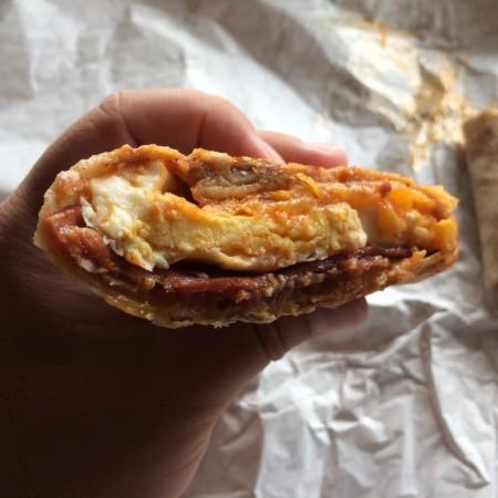Happy Cup - Sweet Heat Breakfast Burrito