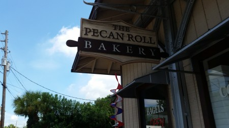 Pecan Roll Bakery - Sign