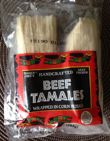 Trader Joe's - Beef Tamales