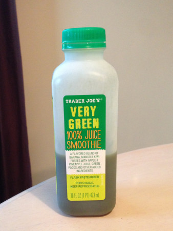 Trader Joe's - Very Green Smoothie Is Very Good