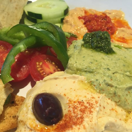 Zoës Kitchen - Hummus Trio