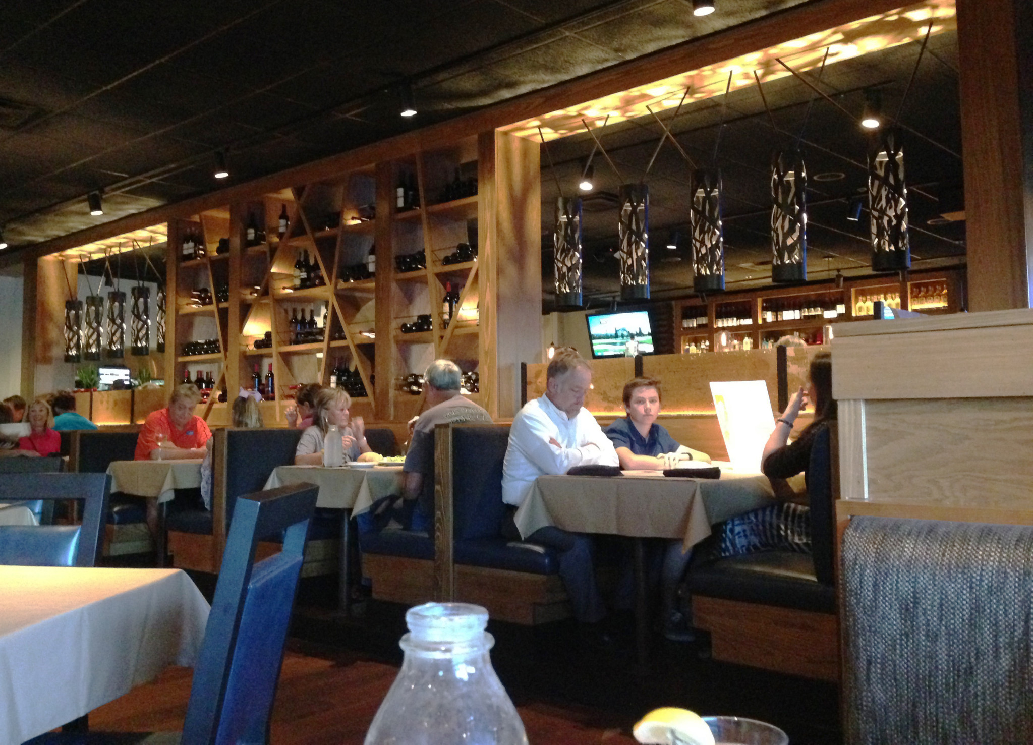 Bonefish grill in jax beach new interior new fall menu for Bone fish and grill