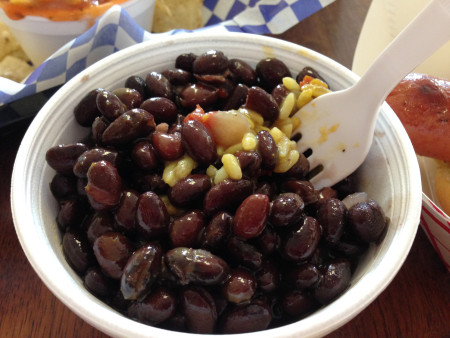 Ohana Shaved Ice - Black Beans and Rice