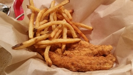 PDQ - Fried Tenders With Fries