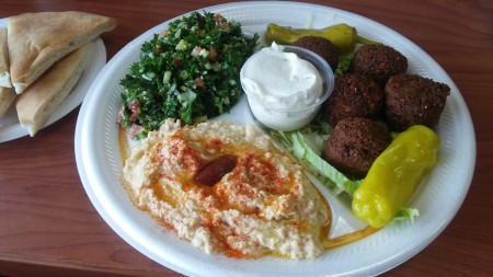 Sandwich Depot - The Falafel Platter