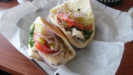 Sandwich Depot - Turkey Pita