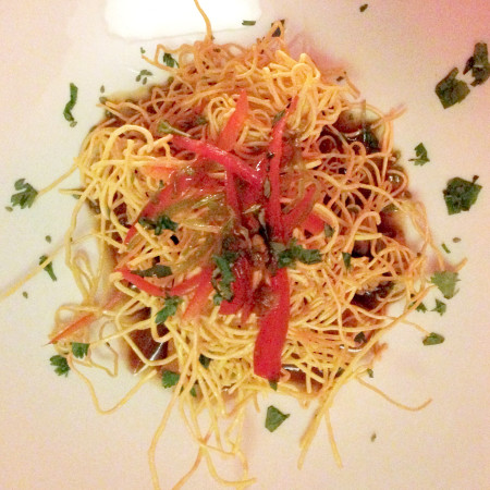 Bold City Grill Wine Dinner - Stir Fried Noodles