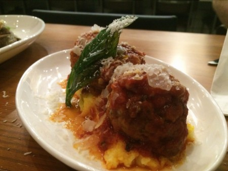 Il Desco - Meatballs and Polenta