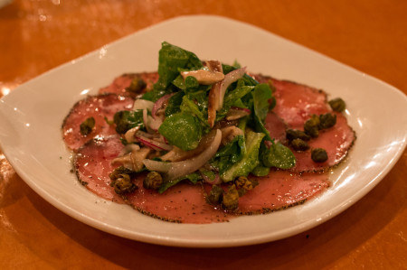 Royal Palm - Ahi Tuna Carpaccio