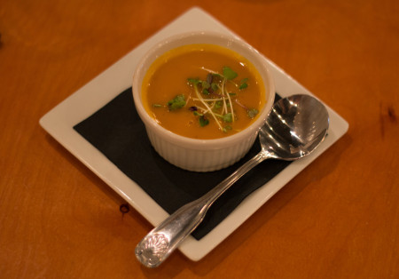 Royal Palm - Coconut Curry Carrot Soup