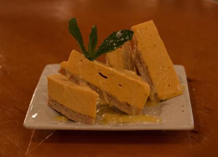 Royal Palm - Pumpkin Cheesecake