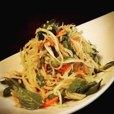 Blue Bamboo - Papaya Salad