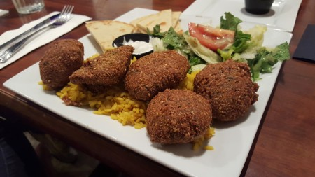 Greek Street - Falafel Platter