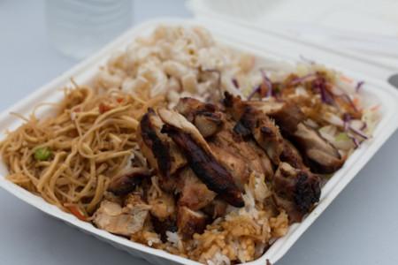 Hapa Li - Chicken Luau Plate