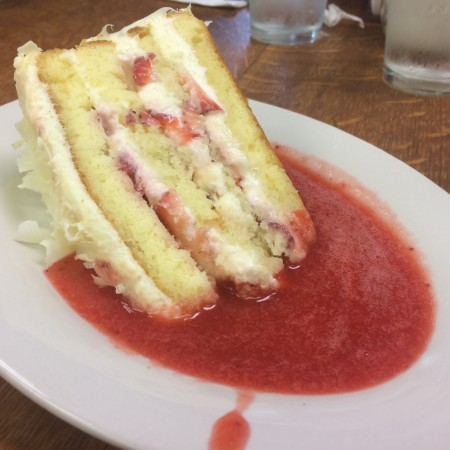The French Pantry - Strawberry Cake