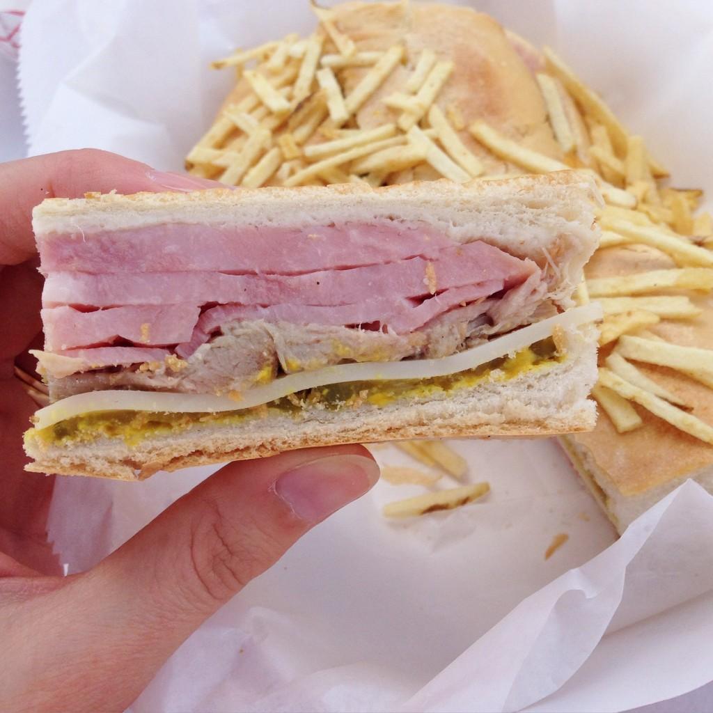 Cuban Fire Grill - Cuban Sandwich