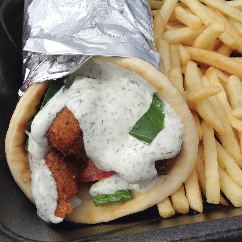 Fusion Food Truck - Falafel Wrap
