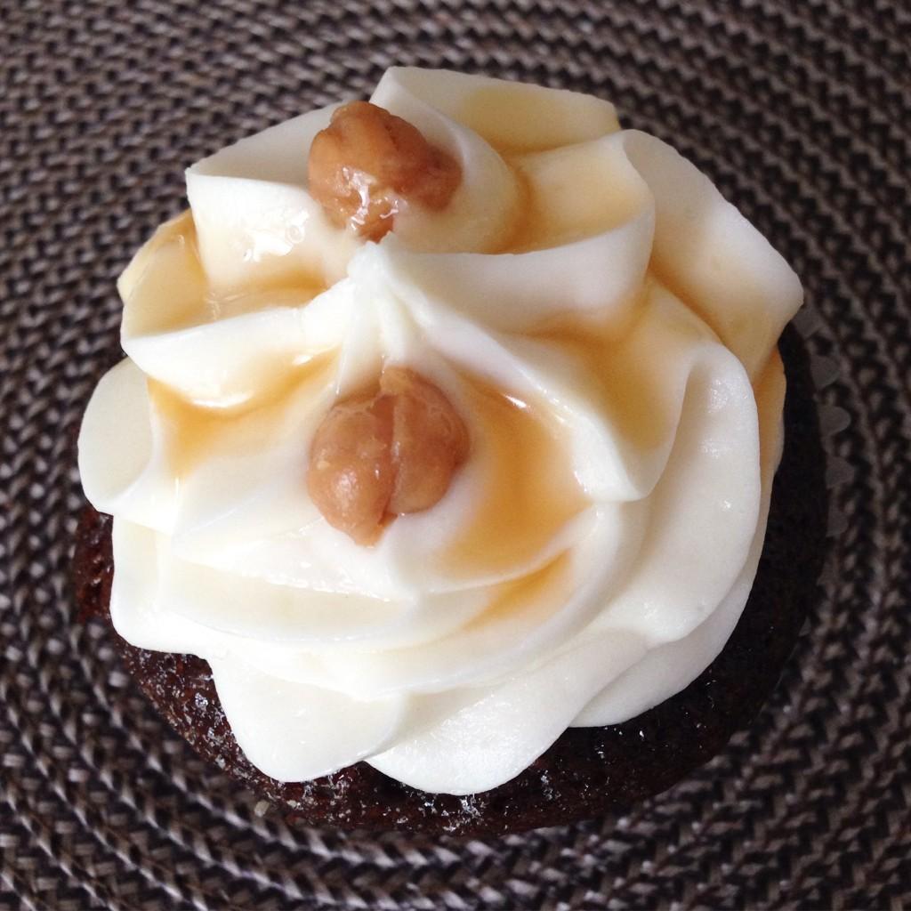 Le Petit Cheri Cupcakery - Salted Caramel Cupcake