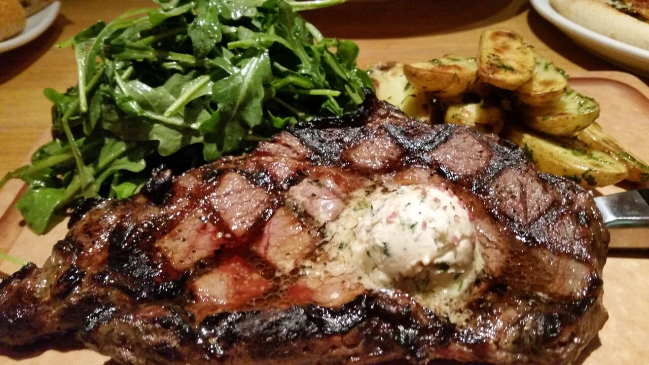 superior California Pizza Kitchen Riverside #7: California Pizza Kitchen - Fire Roasted Ribeye