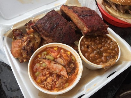Southern Soul BBQ - Three Meat Platter