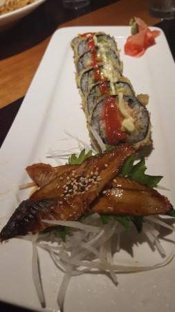 Kaika Teppanyaki - BBQ Eel and Dynamite Roll