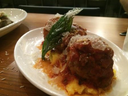 Meatballs at Il Desco
