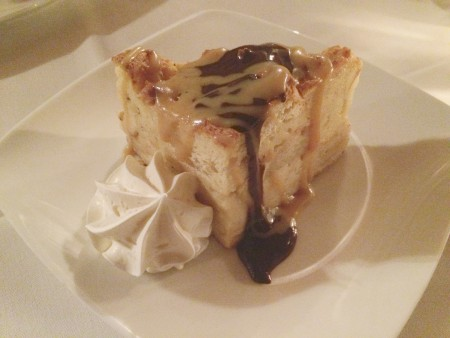 Wine Cellar - Apple Pear Bread Pudding