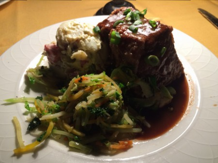 Alhambra Dinner Theatre - Braised Short Ribs