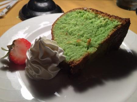 Alhambra Dinner Theatre - Pistachio Cake