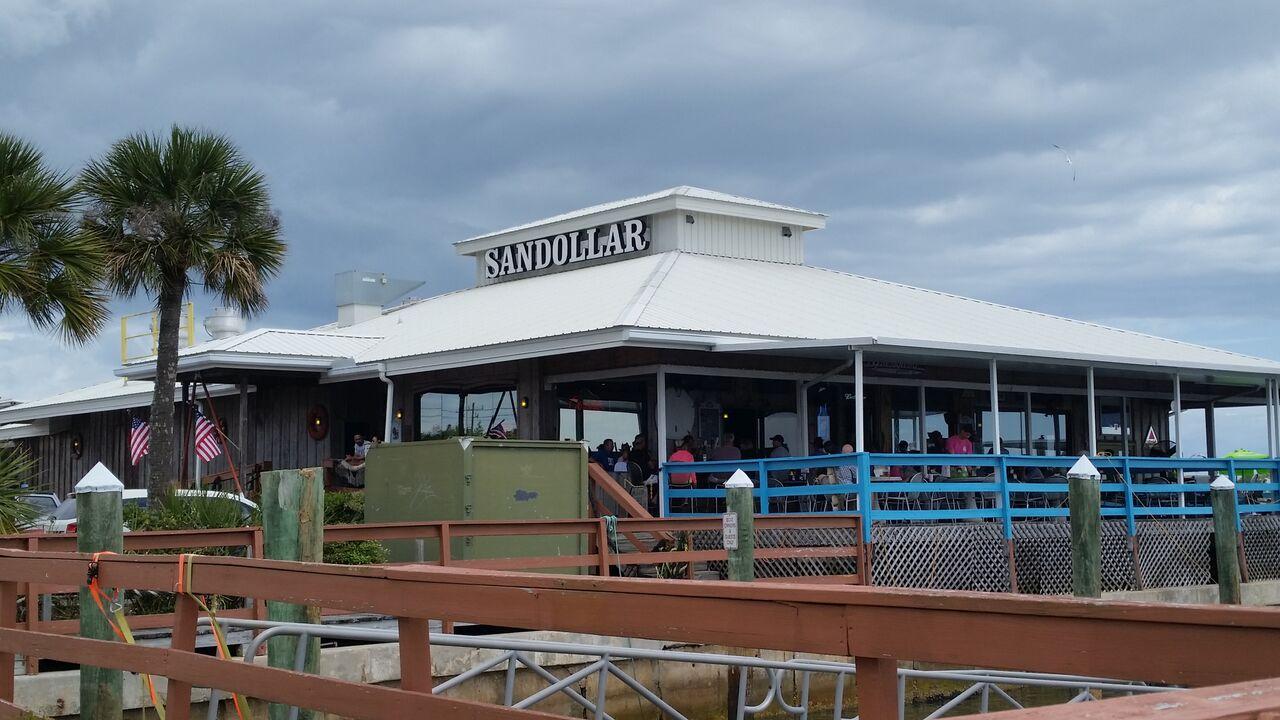 Sandollar Restaurant and Marina - Great View, Not So Great Service ...