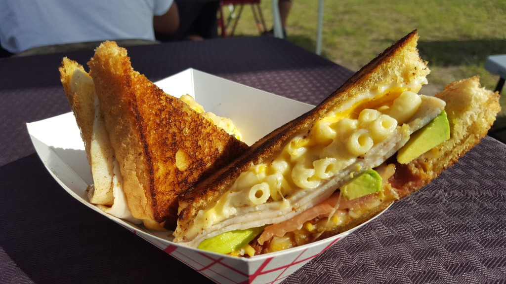 The Happy Grilled Cheese - Yum
