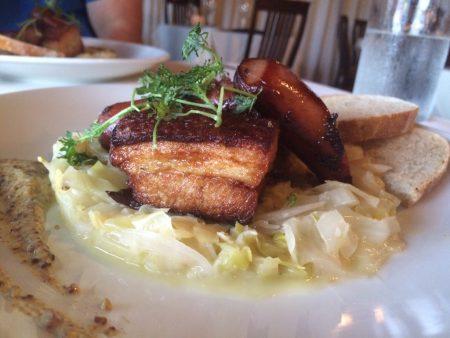 Mezza - Pork Belly and Sauerkraut