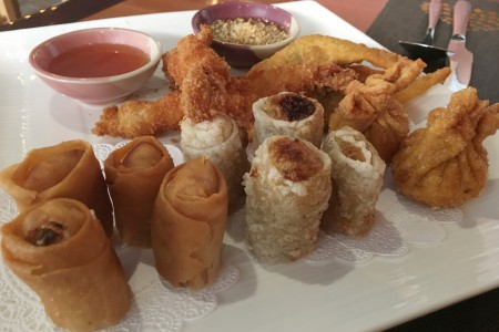 Tamarind Thai - Appetizer Sampler