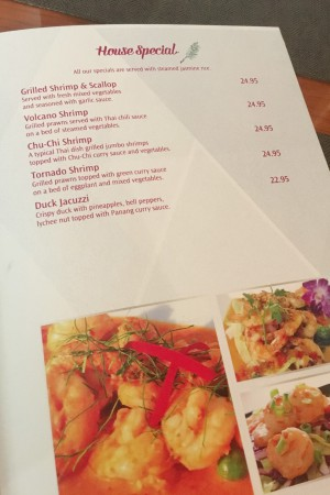 Tamarind Thai - House Specials