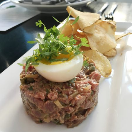 The Candy Apple Café - Beef Tartare