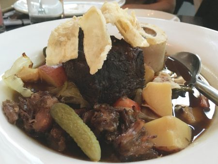 The Candy Apple Café - Short Rib Pot-au-feu