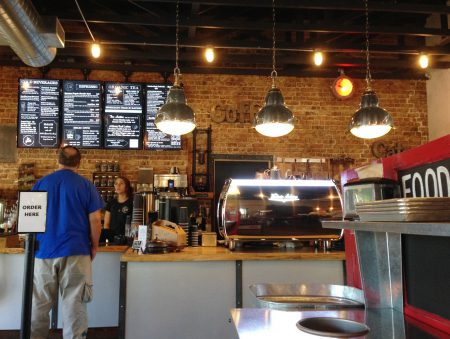 The Urban Bean Coffeehouse Cafe - Counter