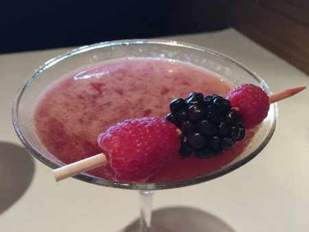 Bonefish Grill - Strawberry Rosé Martini