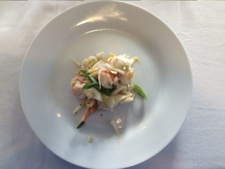 Whole Foods Market Wine Dinner - Lobster Salad