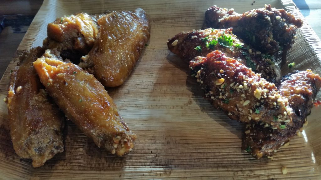 Wicked Barley - Chicken Without Waffles and Spicy Asian Wings