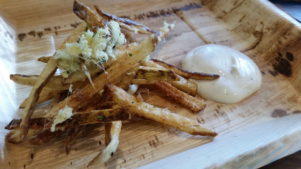 Wicked Barley - Ginger Garlic Fries