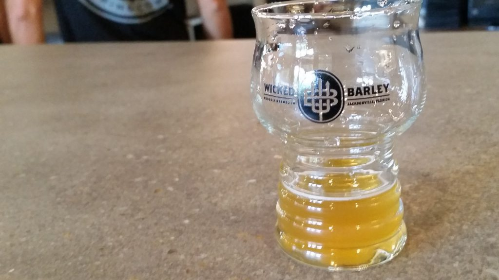 Wicked Barley - Mango Beer Sample