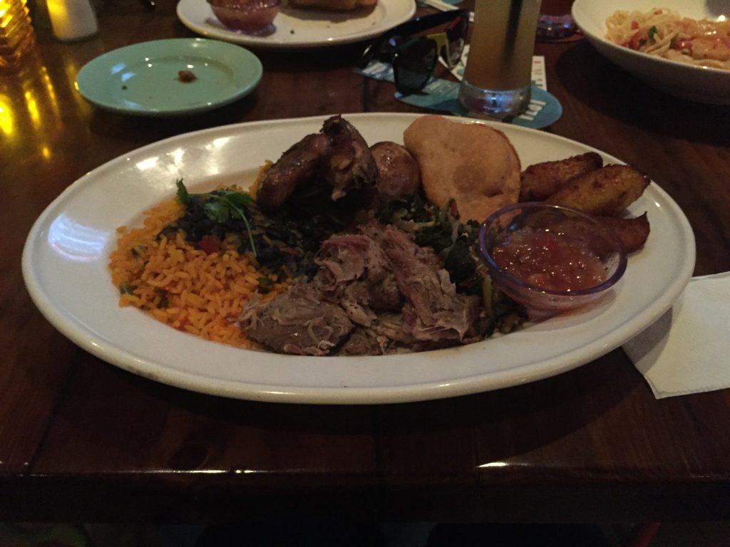 Bahama Breeze - Taste of Jamaica Platter