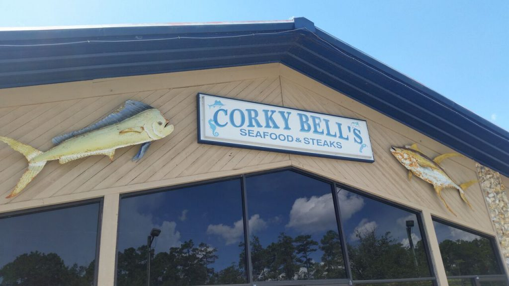 Corky Bell's - Sign